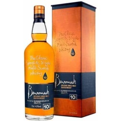Whisky Single Malt Benromach 10 Years Old 70 Cl con Confezione
