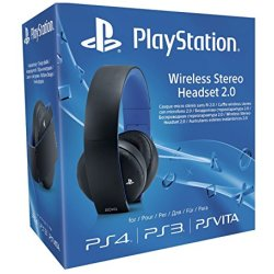Sony PlayStation 4 Wireless Stereo Headset 2.0 Cuffie senza fili nero