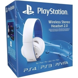 PlayStation Wireless Stereo Headset 2.0 cuffie senza fili bianco