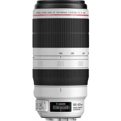 Canon EF 100 400 mm F4.5 5.6 IS L USM II 77 mm Obiettivo (compatible con Canon EF) bianco