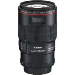 Canon EF 100 mm F2.8 IS L USM 67 mm Obiettivo (compatible con Canon EF) nero