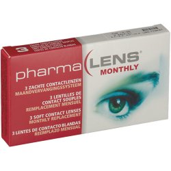 PharmaLens Month Lenses Dioptre 4.00