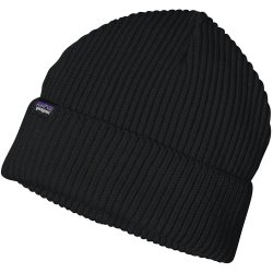 Patagonia Fishermans Rolled Beanie nero