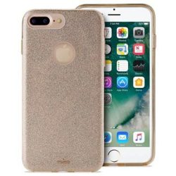 Cover Puro Glitter per iPhone 7 Plus iPhone 8 Plus Color Oro