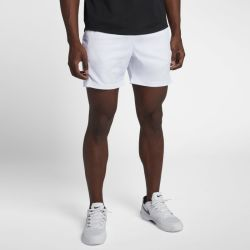 Shorts da tennis 18 cm NikeCourt Dri FIT Uomo Bianco