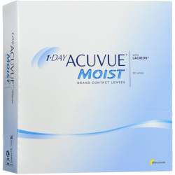 Acuvue Moist Contact Lenses 1 Day Replacement 2.25 BC 8.5 90 Unità