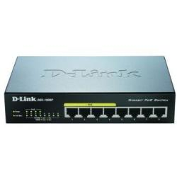 D LINK SWITCH DESKTOP 8PORTE 10 100 1000 P DGS 1008P