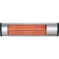 IW 604 E Wall 600W Stainless steel Infrared electric space heaters (Infrared Stainless steel 1.4 m 600 W 230 V 540 mm) Rommelsbacher