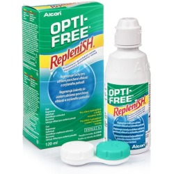 OPTI FREE RepleniSH 120 ml con portalenti