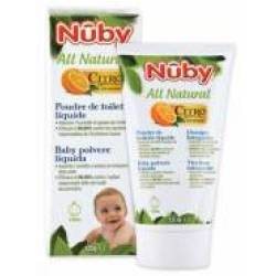 Nuby All Natural Citroganix Talco Liquido per Bambini