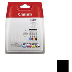 CANON CLI 571 BK C M Y MULTIPACK BLISTER 0386C004