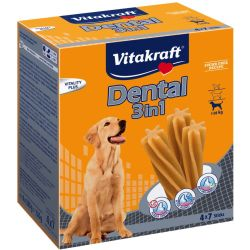 Vitakraft Dental 3in1 Multipack Tg. M 4 x 180 g