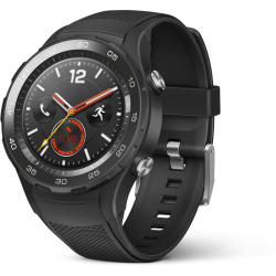 Huawei Watch 2 45mm nero con cinturino Sport carbon black Wifi 4G
