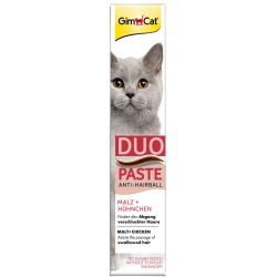 GimCat Duo Paste Anti Hairball Malto Pollo Set 3 x 50 g