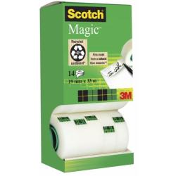 SCOTCH CF14NASTRO MAGIC 810 19MMX33M 75558