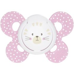 CHICCO SUCCHIOTTO COMFORT GIRL SILICONE 6 12M