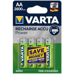 Batterie AA Ricaricabili Varta Power Ready2Use 5716101404 2600mAh 1x4