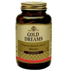 Solgar Golden Dreams Integratore Alimentare 60 Tavolette