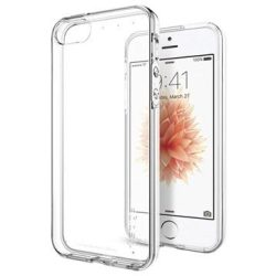 Custodia in TPU Spigen Liquid Crystal per iPhone 5 5S SE Trasparente