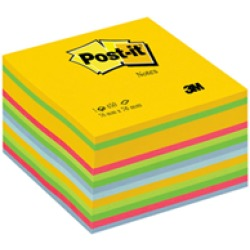 Post it 2030 u bloc notes a cubo 60252