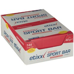 Etixx Energy Sportbar Red Fruits