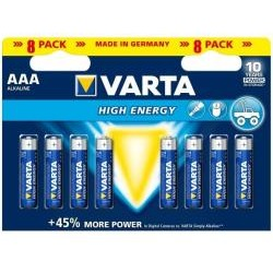 Pila Longlife power batteria 8 x aa lr06 alcalina 4906121418