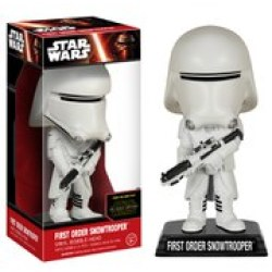 Star Wars The Force Awakens First Order Snowtrooper Wacky Wobbler Bobble Head